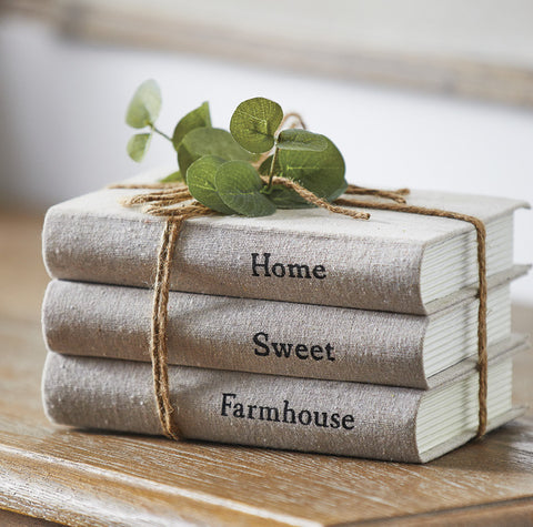 Farmhouse Book Stack