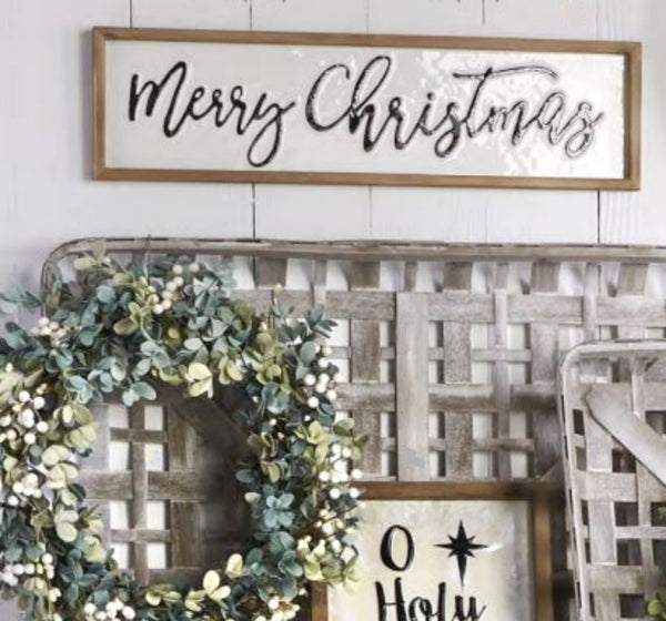 Merry Christmas Framed Wall Art