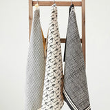 Patterned Tea Towels - Set of Three