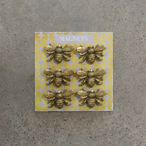 Bee Magnets - Set of Six