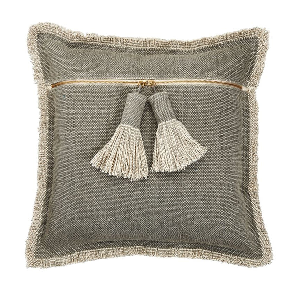 """Roxie"" Tassle Pillow - Two Styles"
