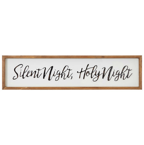 Silent Night, Holy Night Framed Wall Art