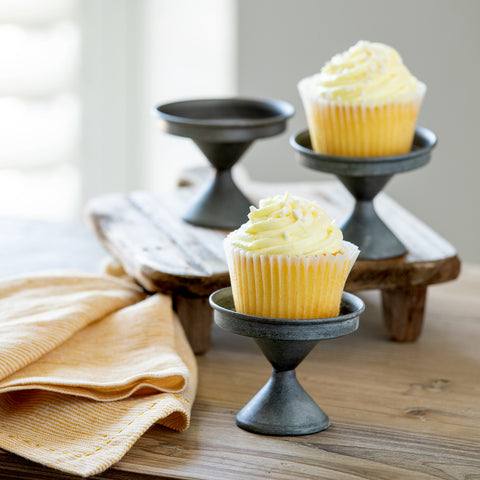 Tin Cupcake Stands - Set of Six
