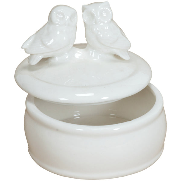 Trinket Holder with Owls