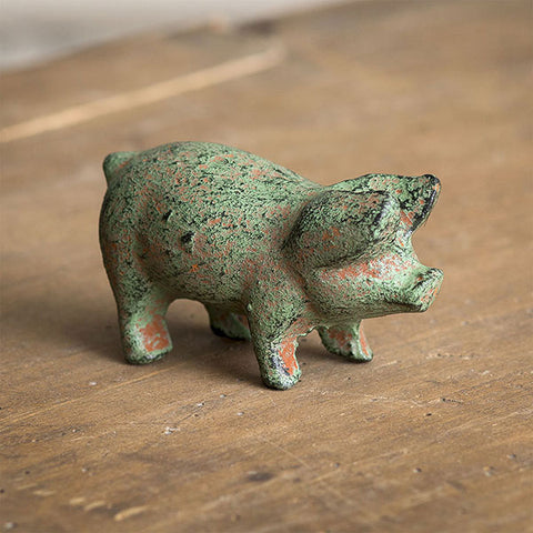 Cast Iron Piglet - Set of Two