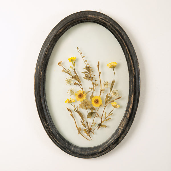 Wood Framed Botanicals - Four Styles
