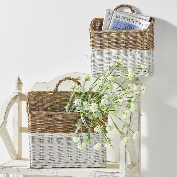 Willow Wall Baskets - Set of Two