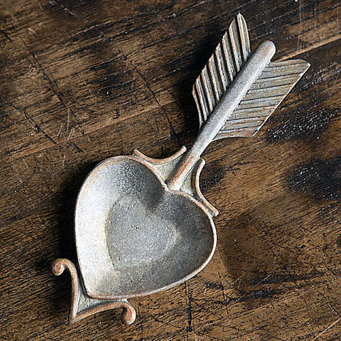 Heart Shaped Jewelery Holder made from Pewter
