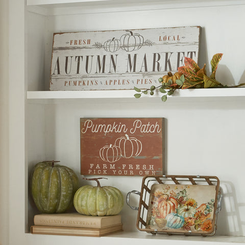 Autumn Market Wall Art
