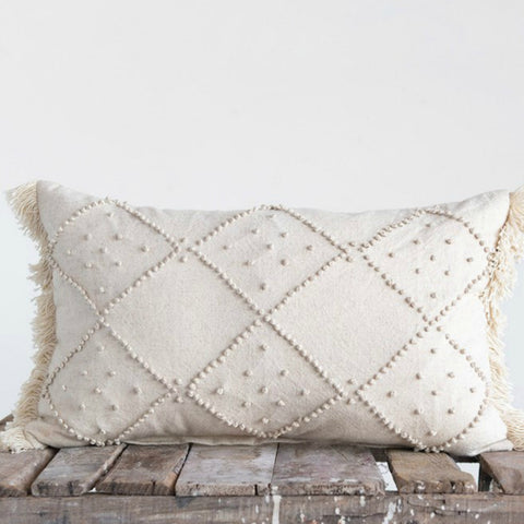 Ainsley Cotton and Linen Pillow