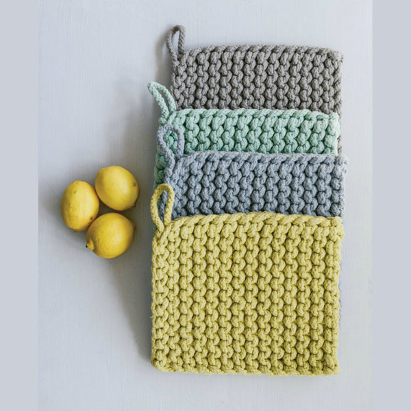 Crocheted Pot Holders - Set of Four