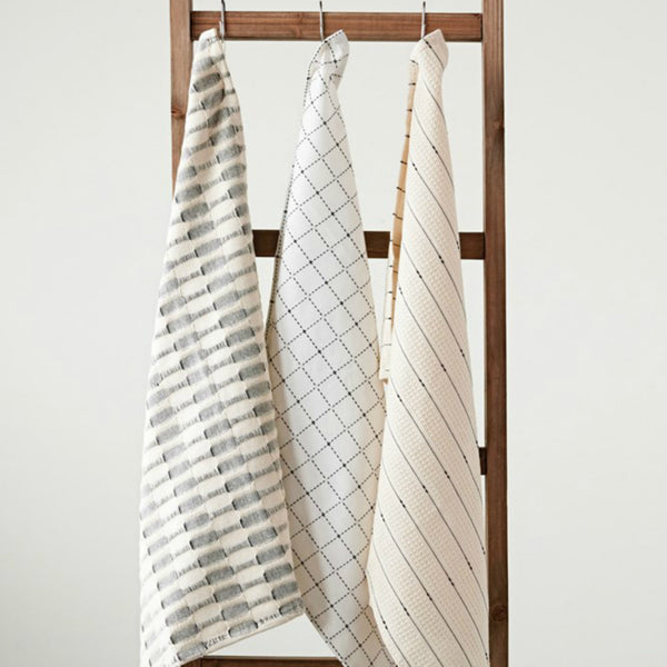 Modern Farmhouse Tea Towels - Set of Three