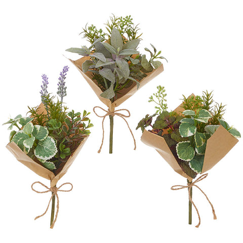 Herb Bouquet - Set of Three