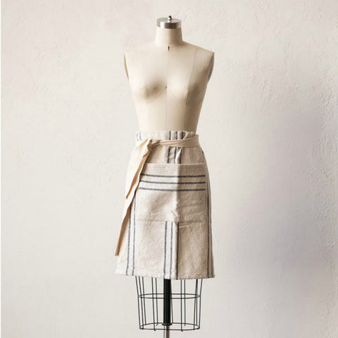 Navy Striped Apron