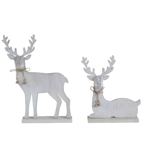 Rustic Wooden Deer - Two Styles