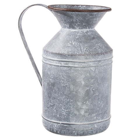 Aged Metal Pitcher