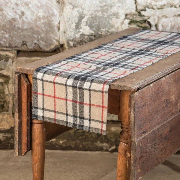 Burberry Plaid Table Runner