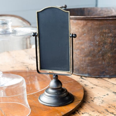 Two Sided Chalkboard Blackboard with Metal Stand