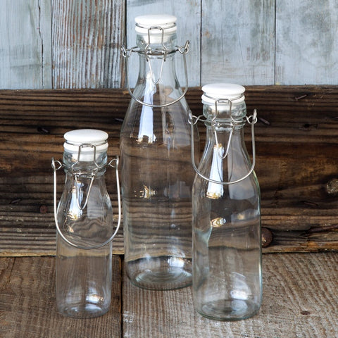 Creamery Bottles - Set of Three