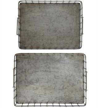 Decorative Iron Trays