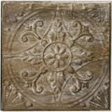 Embossed Tin Tile - Set of Four