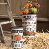 Farmers Market Decorative Containers - Set of 2