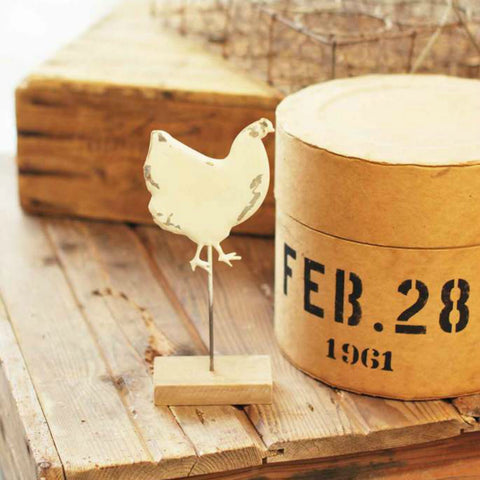 Farmhouse Chicken Figurine