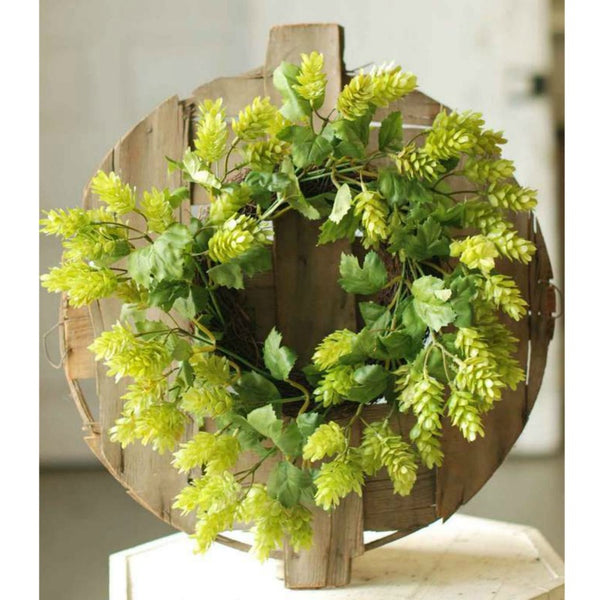 Summer Hops Wreath