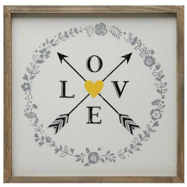 """Love and Arrows"" Wall Decor"
