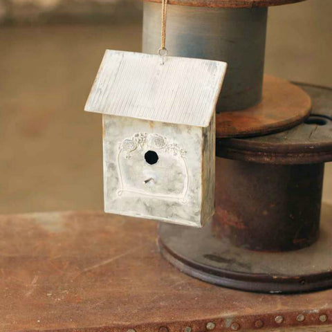 Metal Birdhouse