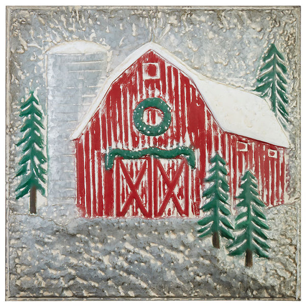 Christmas Barn Wall Art