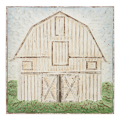 White Barn Wall Art