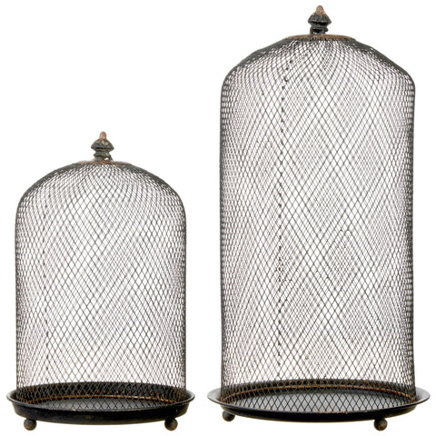 Antiqued Cloches - Set of Two