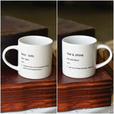 Morning Pour Mugs - Set of Two