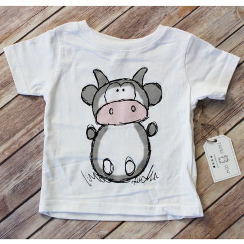 Lil' Cow Toddler Tee Shirt