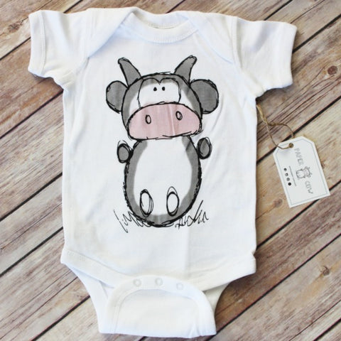 Lil' Cow Baby Onesie
