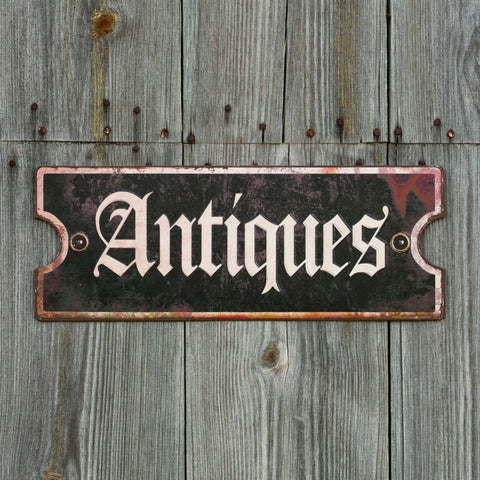 """Antiques"" Sign"