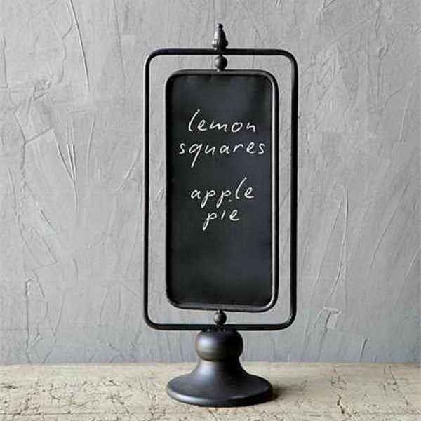 Cafe` Chalkboard with Metal Stand