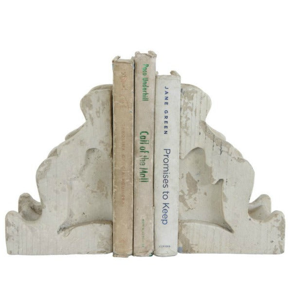 White Distressed, Chippy Corbel Set of Two
