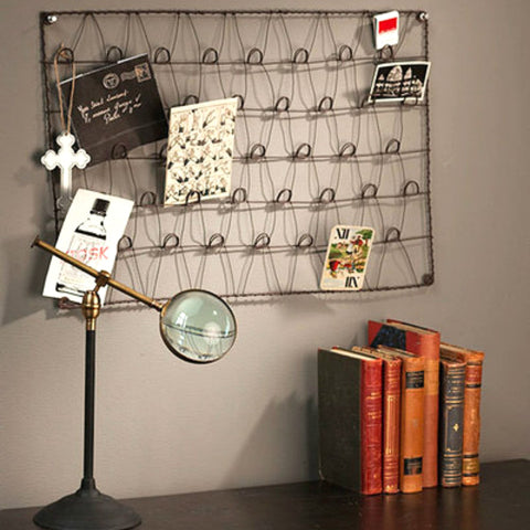 Metal Wire Card Holder Memo Board