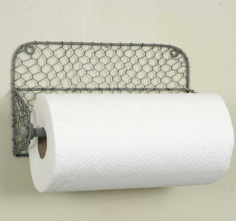 Wire Paper Towel Holder