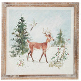 Woodland Animals Framed Wall Art