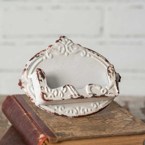 Shabby Chic Business Card Holder