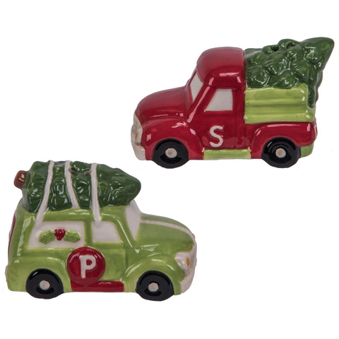 Ceramic Holiday Salt and Pepper Shakers