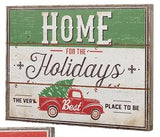 Festive Signs with Holiday Sayings perfect for a cabin, cottag or farmhouse Christmas