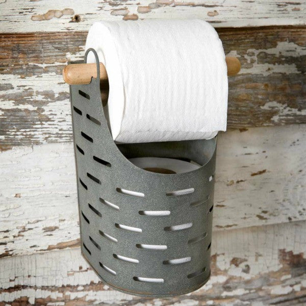 Metal Bathroom Tissue Holder