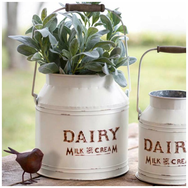 Vintage Inspired Dairy Cans
