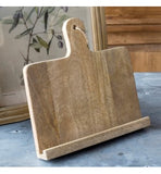 Rustic Wooden Farmhouse or Cottage style cookbook or tablet stand or holder