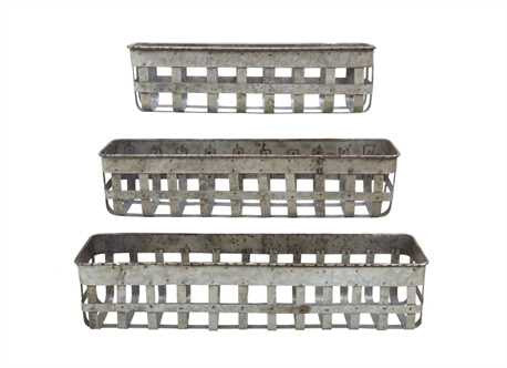 Industrial Farmhouse Baskets - Three sizes