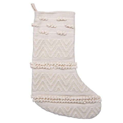 Woven Holiday Stocking - Set of Two